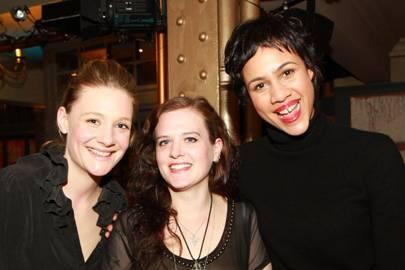 Romola Garai, Penelope Skinner and Zawe Ashton