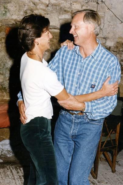 Mrs Jonathan Wyld and Jonathan Wyld