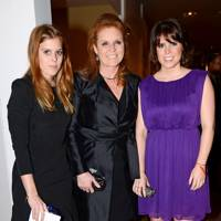 Princess Beatrice, Princess Eugenie and Sarah Ferguson