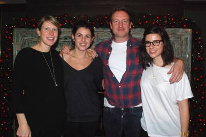 Hannah Brenchley, Eve Jones, Barnaby Coughlin and Elle Korhaliller
