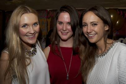Gabriella Guthrie, Annie Pritchard-Gordon and Lavinia Brennan