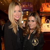 Laura Whitmore and Zoe Hardman