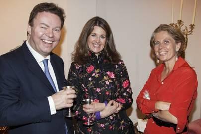Charles Pelham, Clare Pelham and Lady Forte