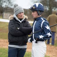 Zara Tindall and Tom David