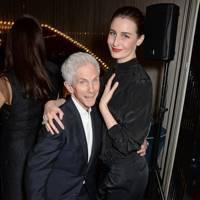 Richard Buckley and Erin O'Connor
