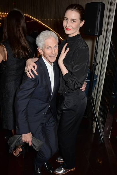 Richard Buckley and Erin O'Connor