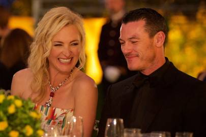 Princess Sayn Wittgenstein Berleburg and Luke Evans