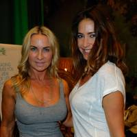 Meg Mathews and Lisa Snowdon