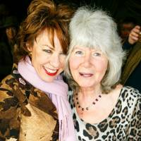 Kathy Lette and Jilly Cooper