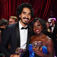 Dev Patel and Viola Davis
