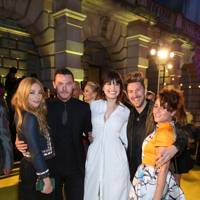 Clara Paget, Luke Evans, Daisy Lowe, Henry Holland and Jaime Winstone
