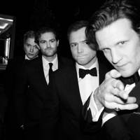 Freddie Fox, Mark Stanley, Taron Egerton and Matt Smith