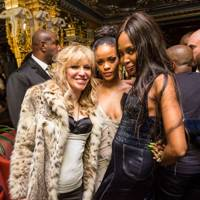 Courtney Love, Rhianna and Naomi Campbell