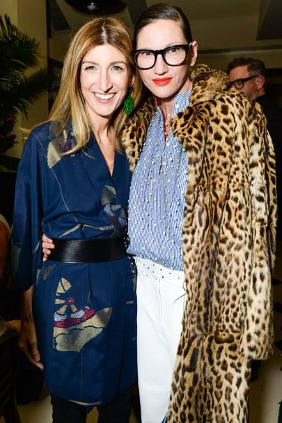 Sarah Rutson and Jenna Lyons