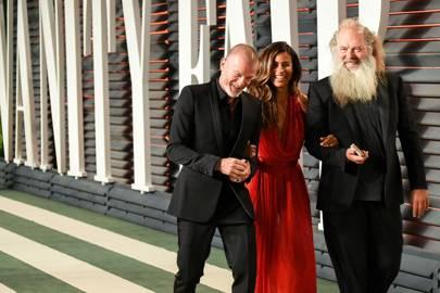 Aviv Nevo, Mourielle Herrera and Rick Rubin