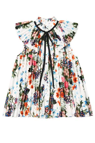 Floral pleated top, £59.99