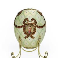 Order of St. George Easter Egg, House of Fabergé, 1916