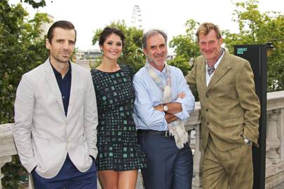 Mel Raido, Gemma Arterton, Philippe Carcassonne and Jason Flemyng