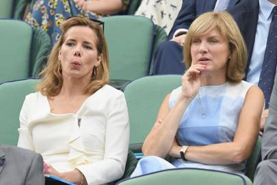 Darcey Bussell and Fiona Bruce