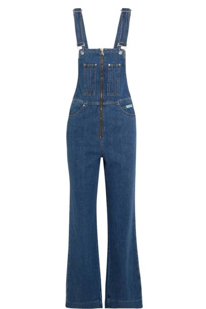 The 'I'm so down with the kids' denim dungarees