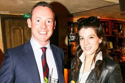 Captain Peter Townley and Sophie Green