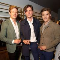 James Norton, Morgan Watkins and Oliver Cheshire