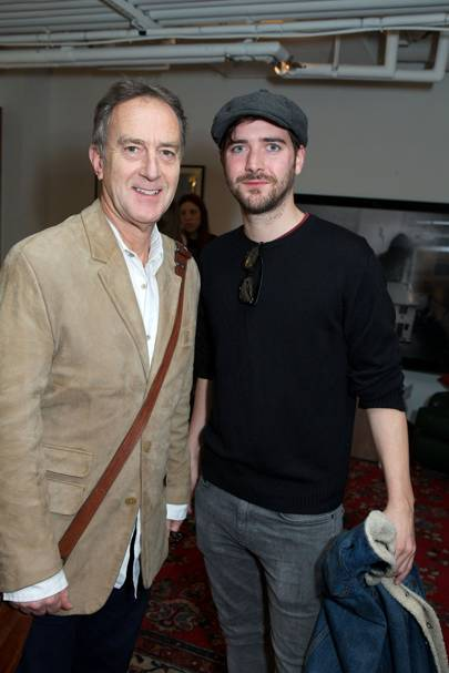 Angus Deayton and Cian Barry