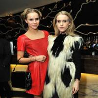 Suki Waterhouse and Mary Charteris