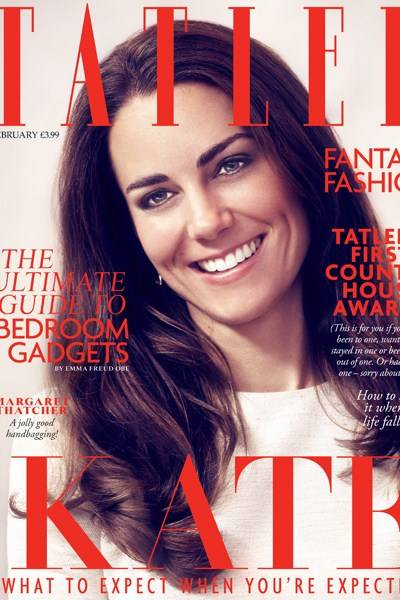 February - the Duchess of Cambridge