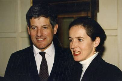 The Hon Andrew Fraser and Lady Charlotte Fraser