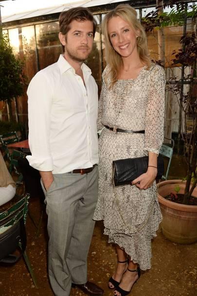Jack Freud and Kate Freud