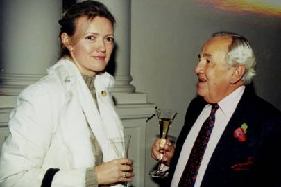 Mrs Peter Butler and Bluey Mavroleon