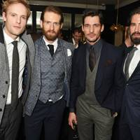 Jack Fox, Craig McGinlay, David Gandy and Jack Guinness