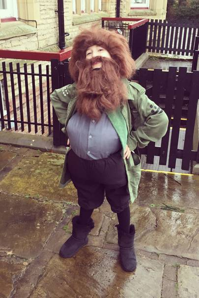 Matilda Kewell as Hagrid