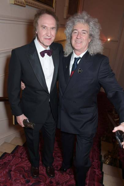 Ray Davies and Brian May
