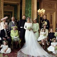 The Duke and Duchess of Sussex's wedding portrait, 2018