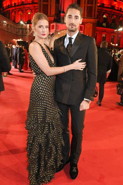 Millie Mackintosh and Hugo Taylor