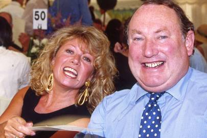 Elaine Paige and Anthony Oppenheimer