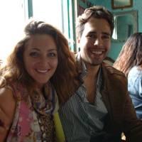 Natasha Corrett and Diego Bivero Volpe