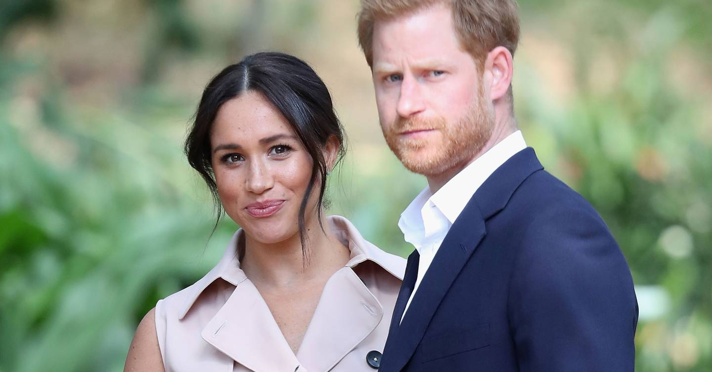 Did the Duke and Duchess of Sussex record behind-the-scenes footage as they stepped back from royal life?