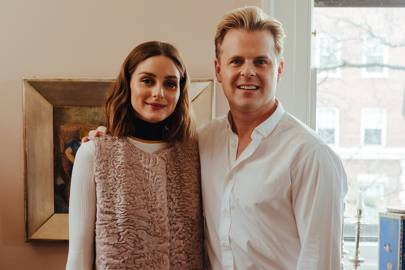 Olivia Palermo and Adam Lippes