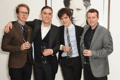 Joe Daniels, James Mullinger, Harry Grinrod and Andrew Doyle