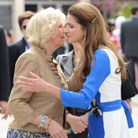 Camilla Duchess of Cornwall and Queen Rania
