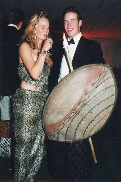 Laura Newton and Alfred Bagge