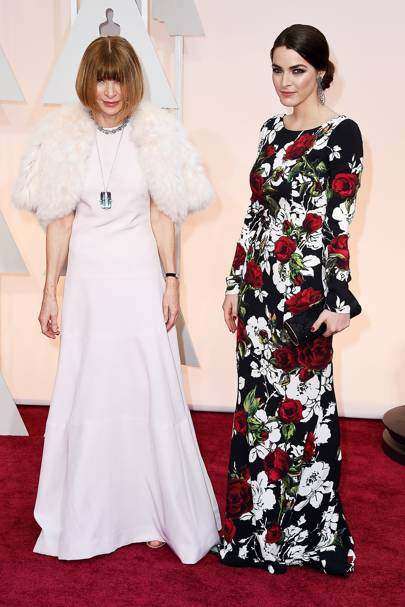Anna Wintour and Bee Schaeffer