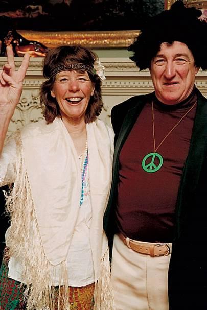 Mrs Peter Corbett and Peter Corbett
