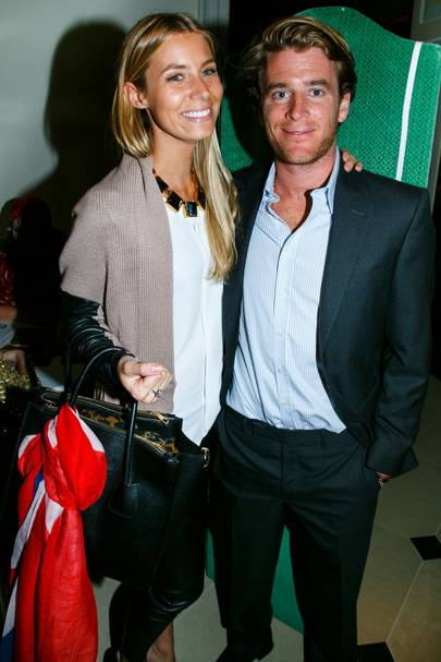 Yoanna Otto and Charlie Hanbury