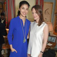 Caroline Issa and Arabella Musgrave