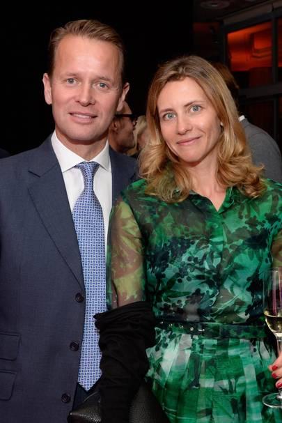 Simon Robinson and Natasha Kuznetsova