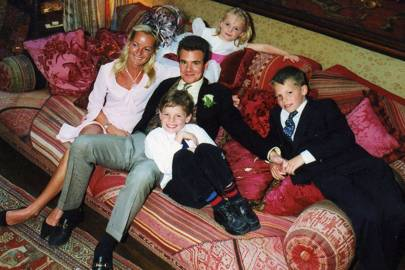 Mrs Michael Petley, Michael Petley, Xenia Petley, Ollie Petley and Max Petley